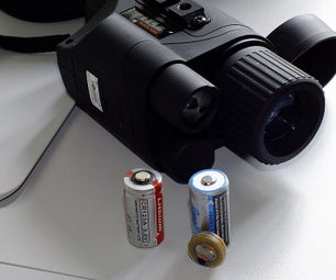 CR123A Battery Adapter for Night Vision Goggles