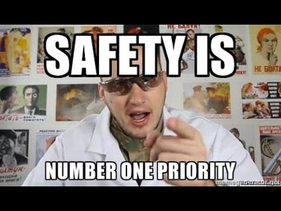 Safety Is No.1 Priority!