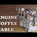 Car Engine Coffee Table