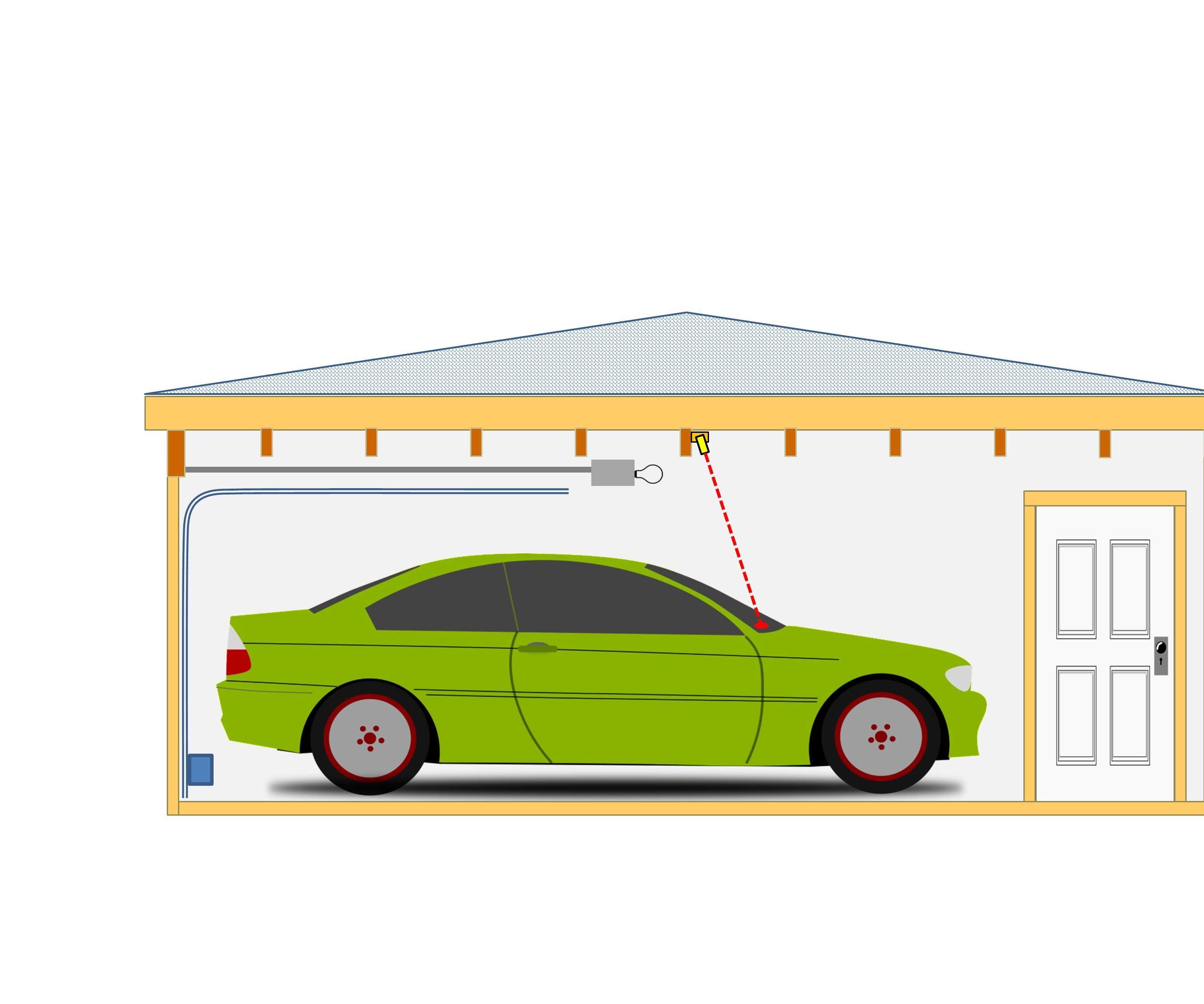 Laser Parking Assitant