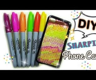 Diy Paint Sharpie Phone Cases!