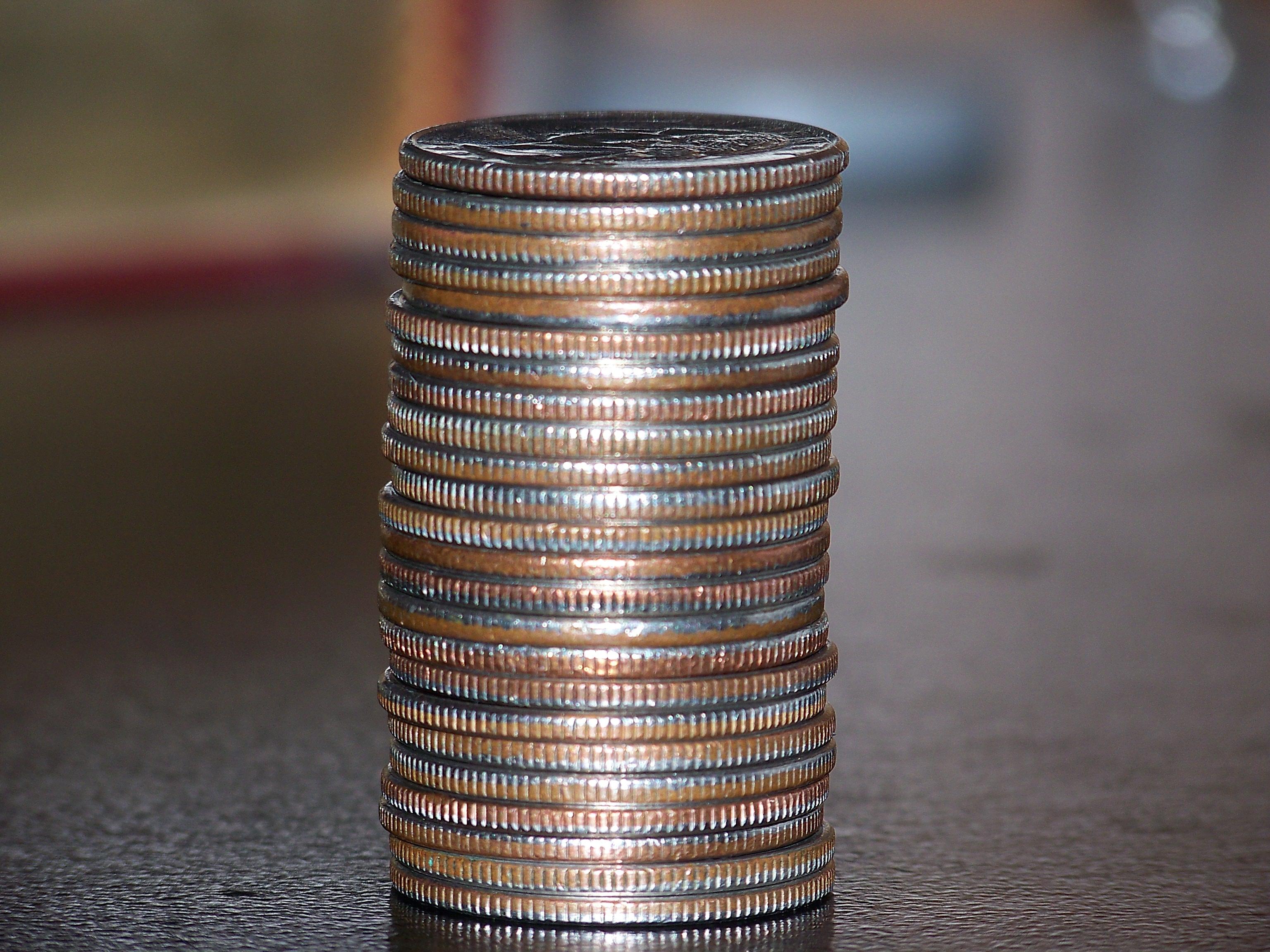 Exploring pocket sized quarter holders