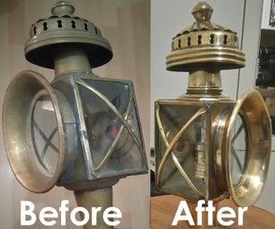Carriage Lamp Restoration
