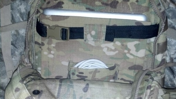 Add Laptop Pouch to Army Backpack