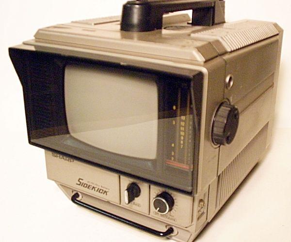 Resurrect a Classic Portable B&W TV