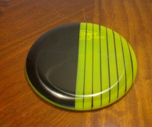 Disc Golf Disc Dyeing Tutorial: Cheap DIY Golf Disc Designs Using Electrical Tape