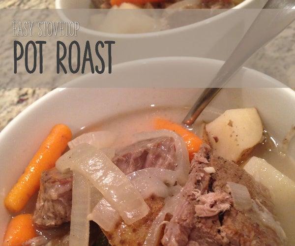 Easy Stovetop Pot Roast