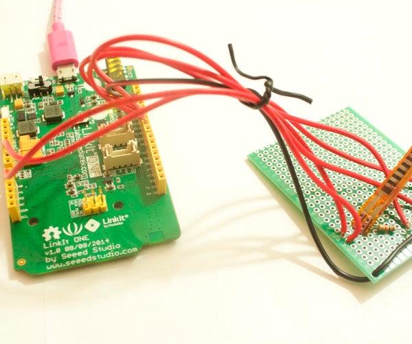 LinkIt One Flex Sensor