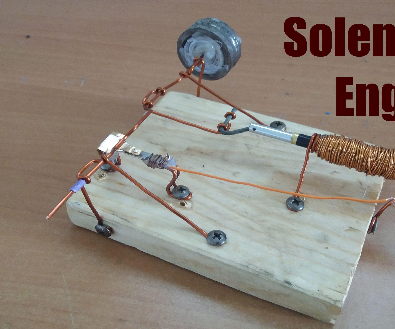 Solenoid Engine open fram