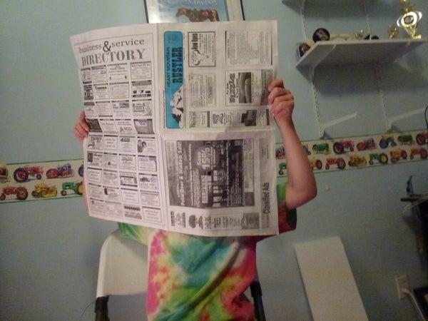 Sneaky Spy Newspapers