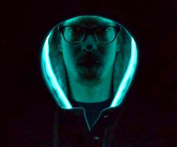 Glowing Hoodie (Machine Washable)
