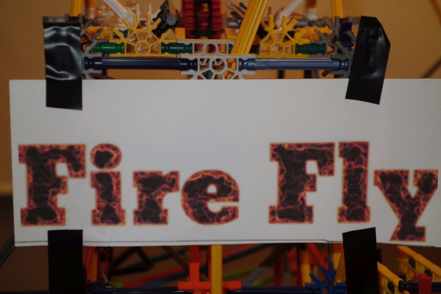 FireFly - a Knex Ball Machine