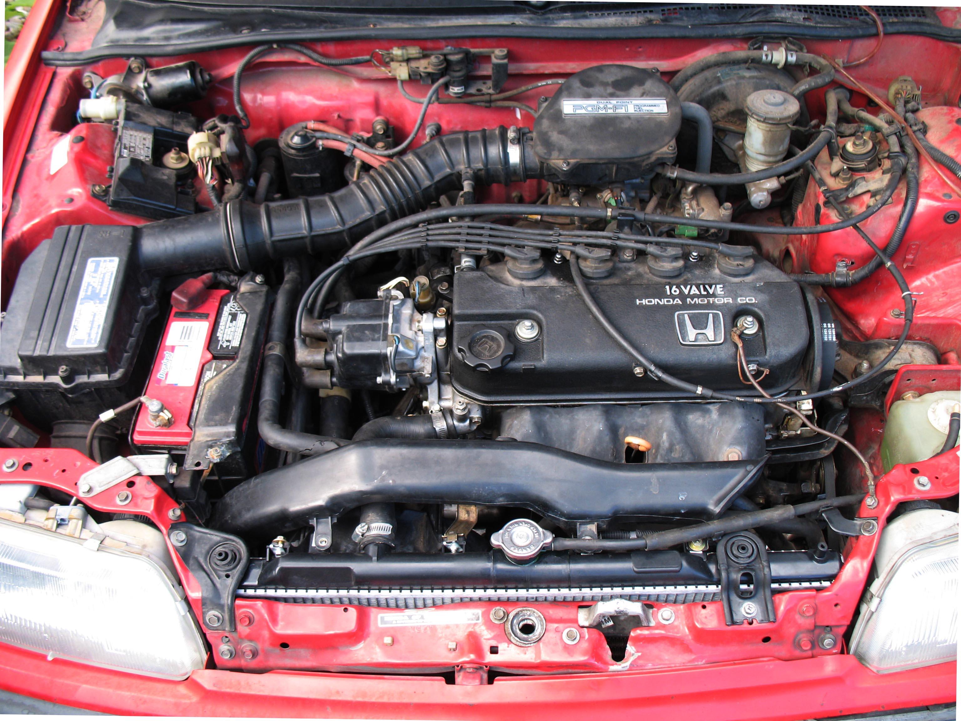 93 Honda Civic Distributor Cap Wiring Diagram