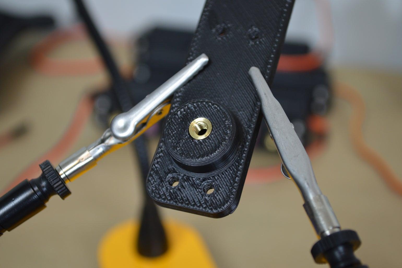 Install Heat-Set Inserts Into Femur Backplates