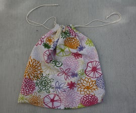Produce Bags From an Old Pillowcase