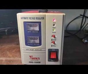 修理稳压器(加上修理技巧)。