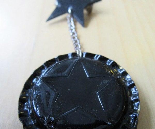 Bowie's Blackstar Brooch Lockets