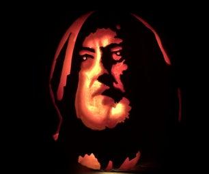 Obi Wan Kenobi Jack-o-lantern Pumpkin