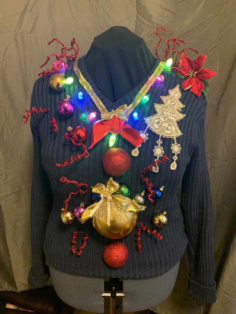 Ugly Sweater Oh My Back Complete!