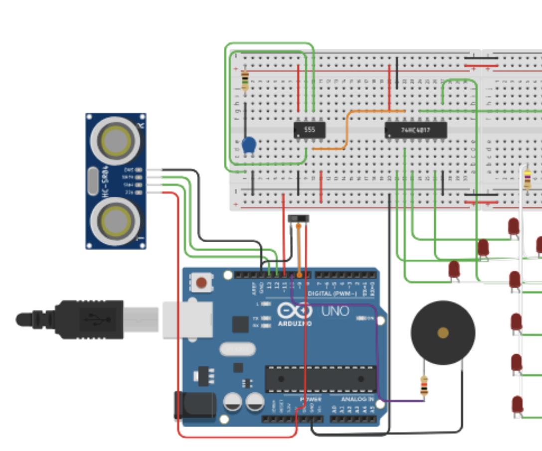 Distance Sensor Alarm W/ Arduino