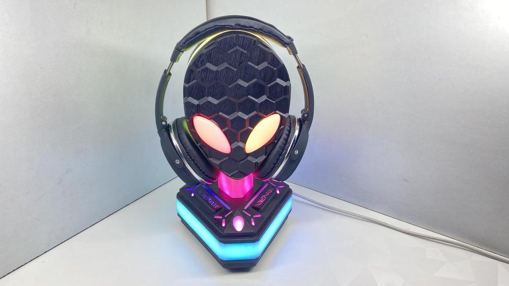Alien - Area 51 RGB Headphone Stand