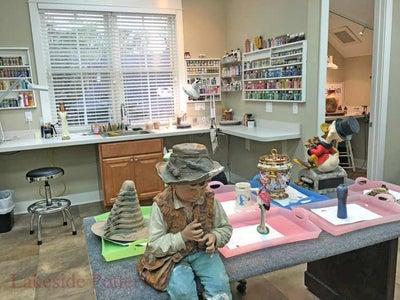 Ceramic and Sculpture Studio Tour