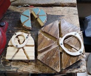锁定:用基本工具,试验和错误制作简单的木制宠物