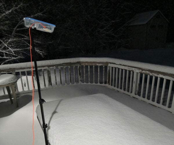 Automatic Snow Wake-up Call