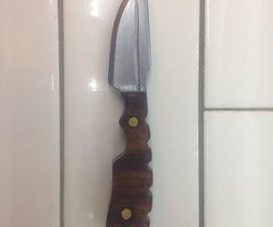 Saw Blade Custom Knife