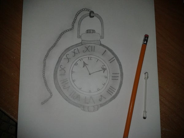 How to Draw: a Pocket Watch