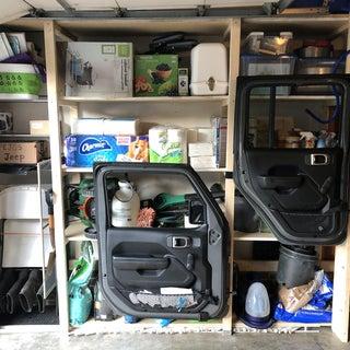 4-Dollar Jeep Door Storage