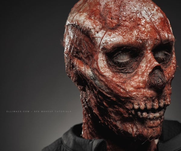 Skeleton Zombie - SFX Makeup Tutorial