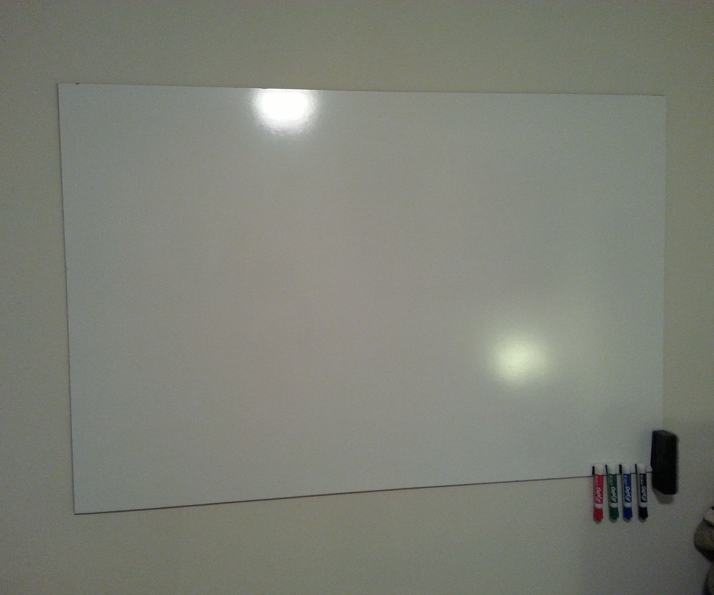 White Board on a Budget