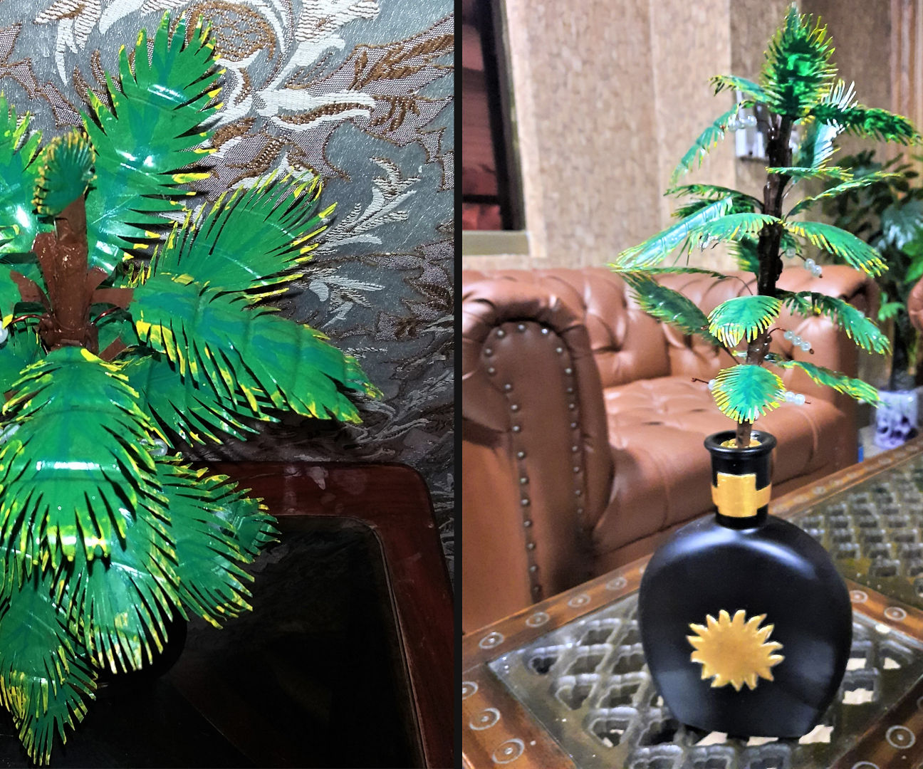 How to Make Artificial Tree From Plastic Bottle|DIY Tree From Wine Bottle|Easy Art & Craft Tutorial Tree