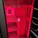 Gun Safe Led Lighting project:  Dual color with motion detector
