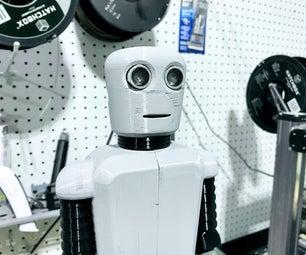 远离社会的万圣节糖果机器人