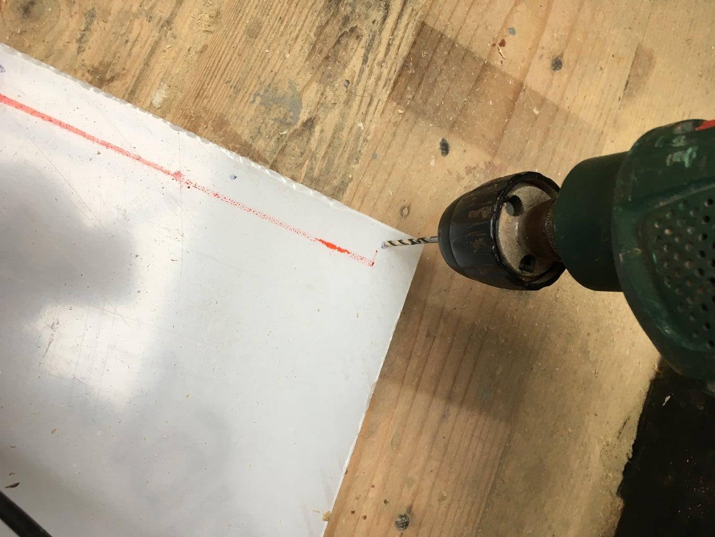 Preparing the Acrylic Sheets