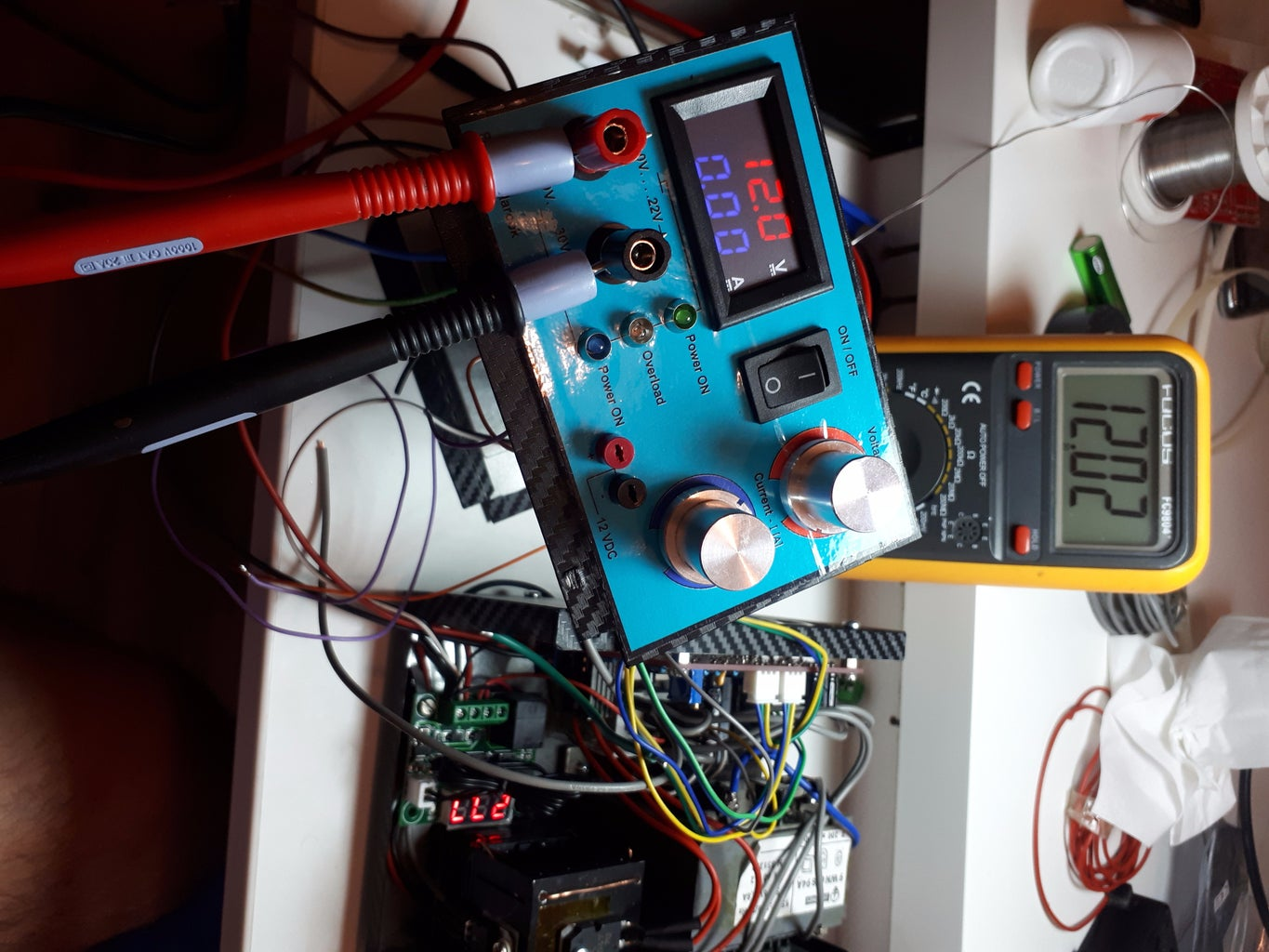 Calibration and Setting of the Thermostat