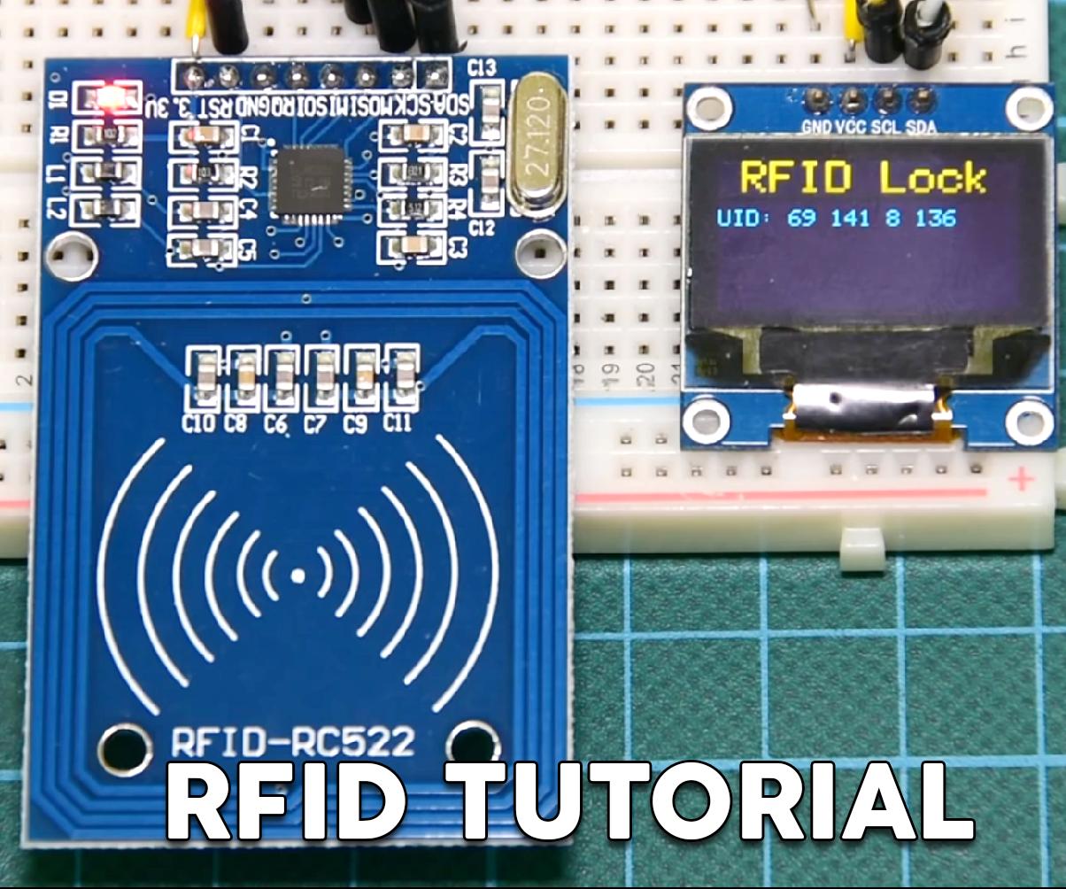 Arduino RFID Lock Tutorial