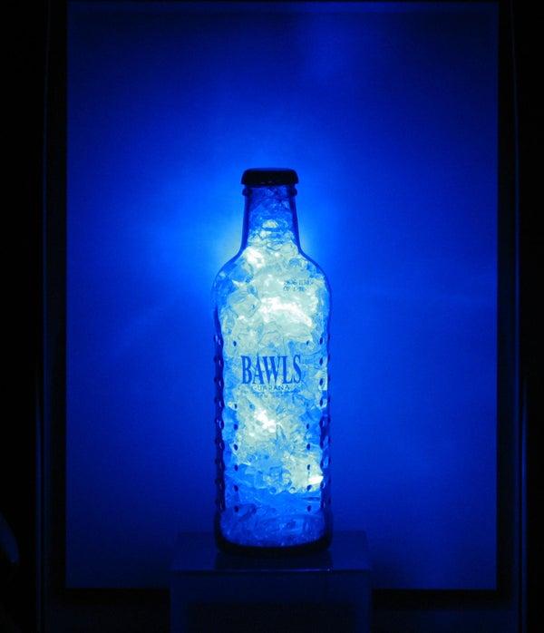 Bawls Blue Crystal LED Light