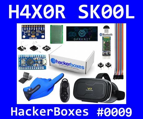 HackerBoxes 0009: Virtual Worlds