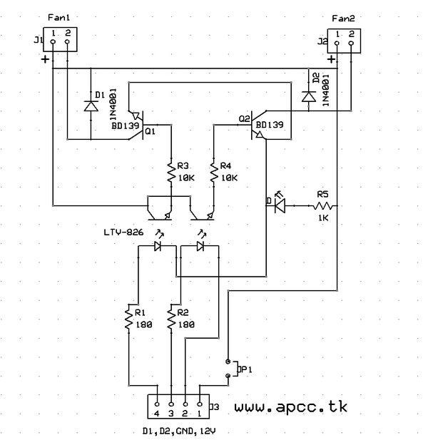 PWM Arduino Fan Speed Controller