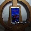 DIY Cardboard Gaming Steering Wheel