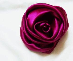 Flowers ROSE  : Handmade Fabric Flower