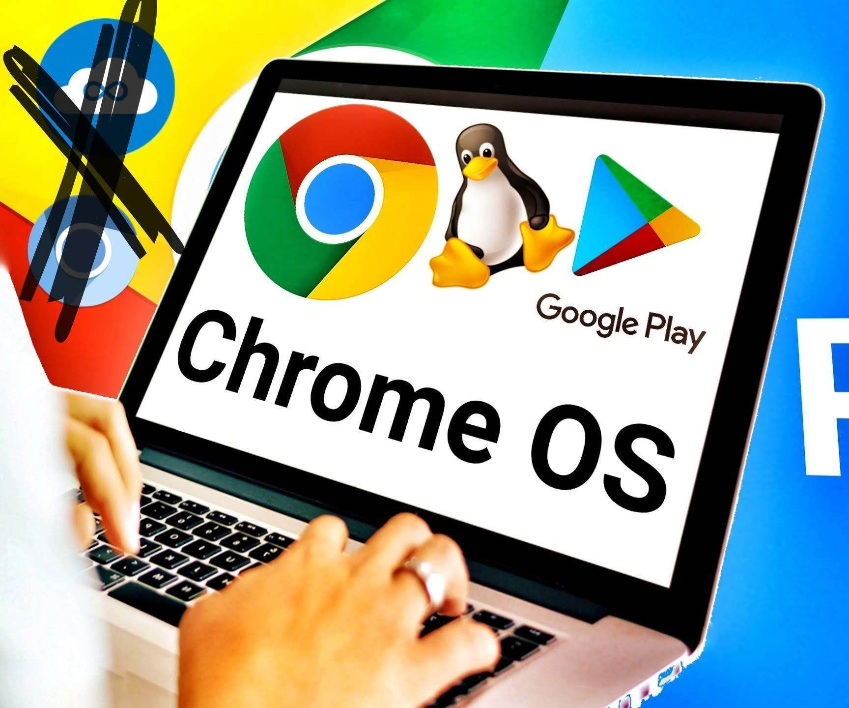 Install Official Google Chrome OS on PC / Laptop With Play Store and Linux for FREE !