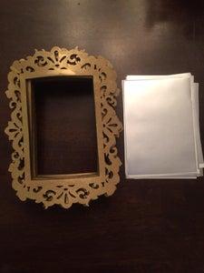 Make Curved Mirrors for Center Frame