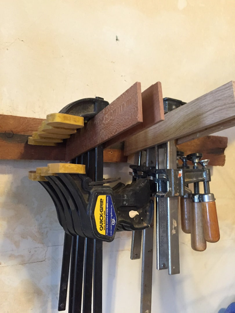 Attaching the Cleats to Store the Long Clamps