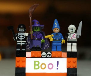 LED Backlight LEGO Boo! Night Light