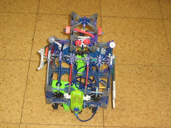 Instructables Robot, of Knex!
