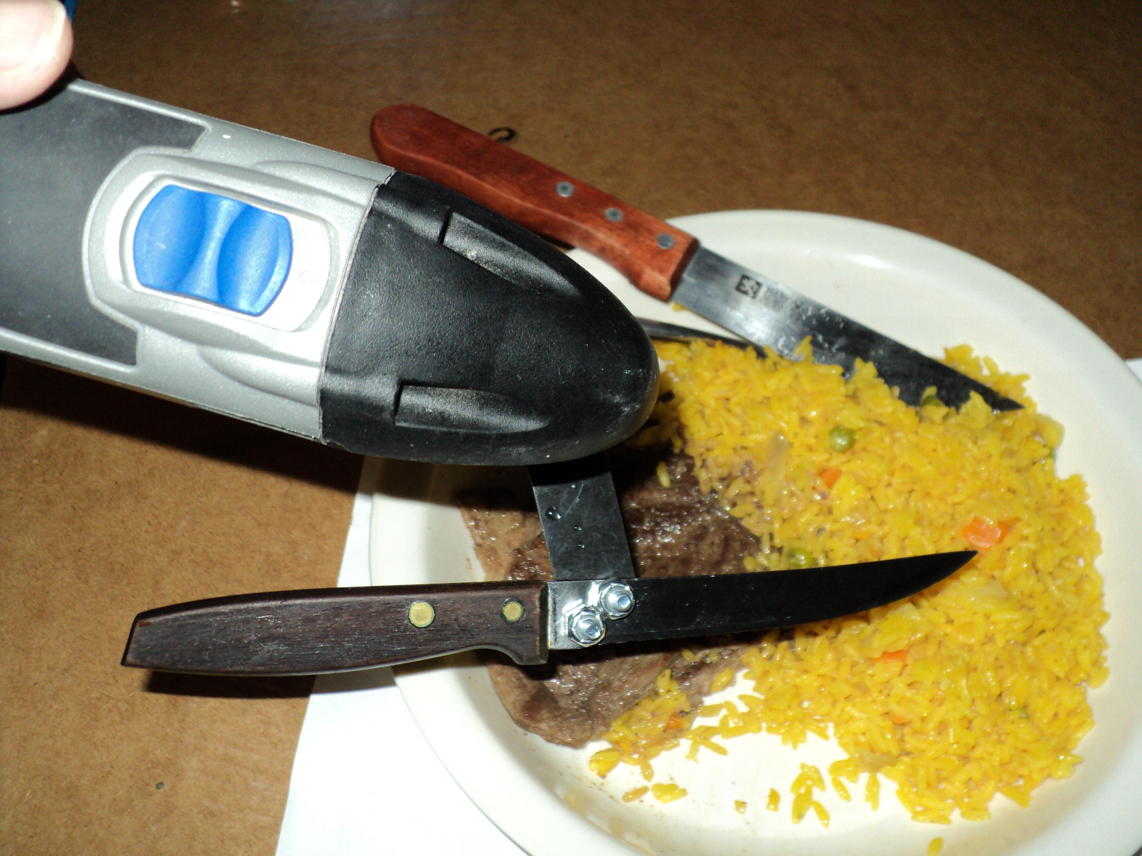 Oscillating Tool Steak Carving Knife